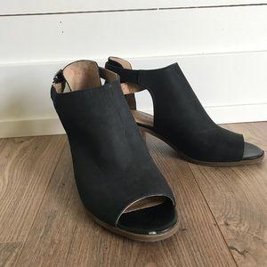 Lucky Brand Peep-toe Bootie
